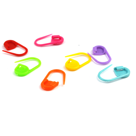 Agrafki - plastikowe znaczniki markery mix kolor