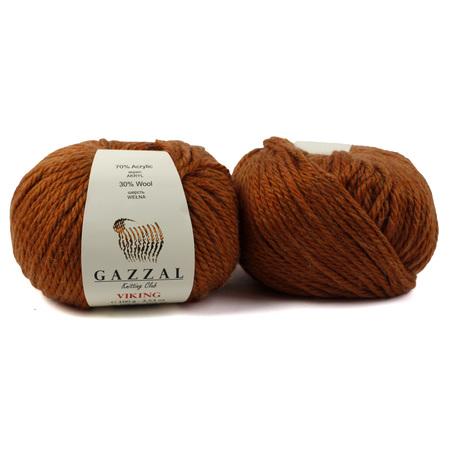 Włóczka GAZZAL VIKING - 4020- RUDY