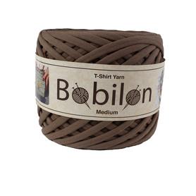 Przędza bawełniana Bobilon Medium - 7 - 9 mm -COCOA
