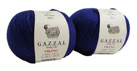 Włóczka GAZZAL VIKING - 4017- KOBALT