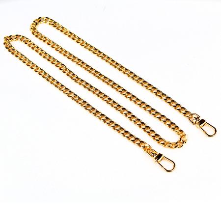 Łańcuszek do torebki 120cm -, kolor złoty
