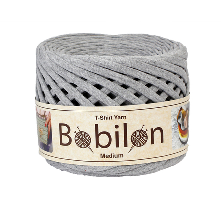 Bobilon Medium, 7-9 mm- GRAY MELANGE